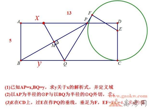 2013上海中考数学压轴题