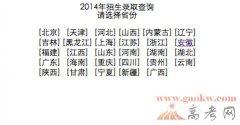 2014安徽理工大学录取查询