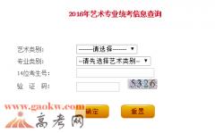 2016年辽宁美术联考成绩查询(辽宁美术统考查分)