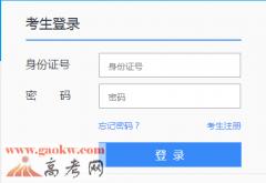 广州美术学院2016年本科招生报名入口