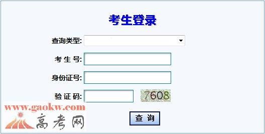 甘肃省教育考试院2016年甘肃高考成绩查询入口