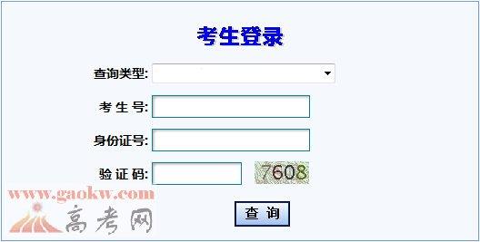 甘肃教育考试院2017年高考成绩查询入口