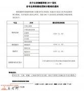 北京舞蹈学院2017年录取分数线