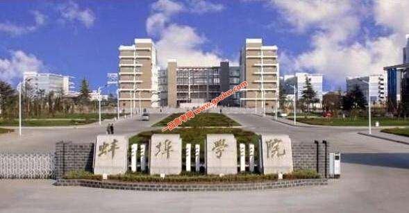 蚌埠学院录取分数线