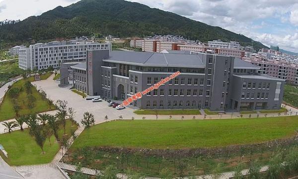 滇西科技师范学院录取分数线2