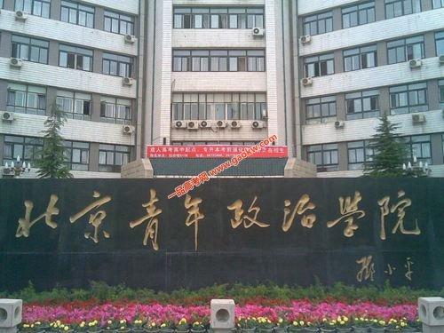 北京青年政治学院录取分数线