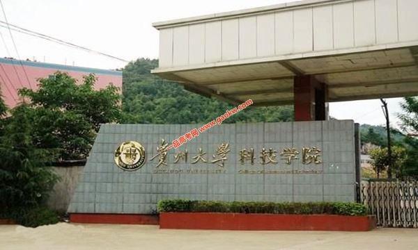 贵州大学科技学院录取分数线