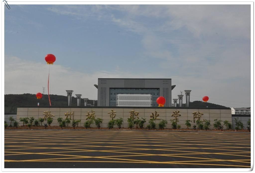 滁州城市职业学院录取分数线