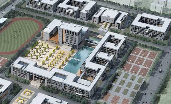 河南信息统计职业学院新校区