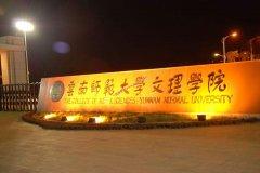 云南师范大学文理学院2019年录取分数线(附