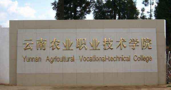 云南农业职业技术学院学费多少