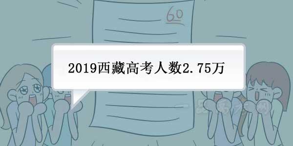 2019年西藏高考报名人数27580 共设965个考场