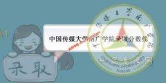 中国传媒大学南广学院2019录取分数线(附2017-2018年分数线)