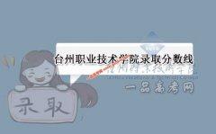 台州职业技术学院2020录取分数线(附2017-2