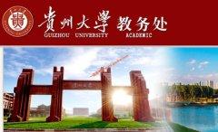 贵州大学教务处,教务管理系统