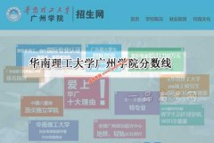 华南理工大学广州学院2020年录取分数线(附2017-2019年分数线)