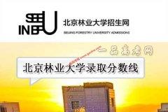 北京林业大学2019年录取分数线(附2017-2018年分数线)