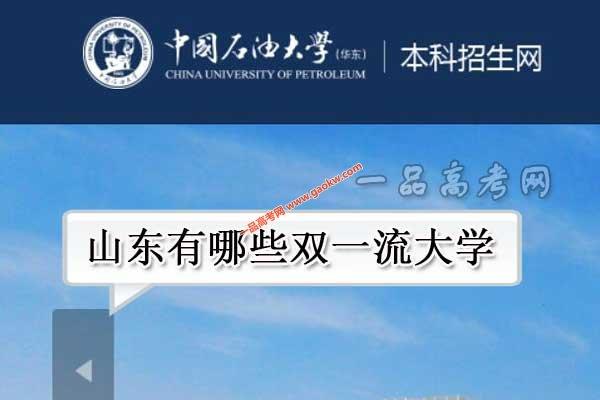 山东有哪些双一流大学(2所世界一流大学,3所世界一流学科高校)