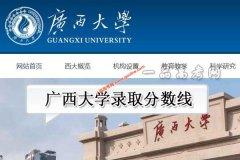 广西大学2020年录取分数线(附2017-2019年分数线)
