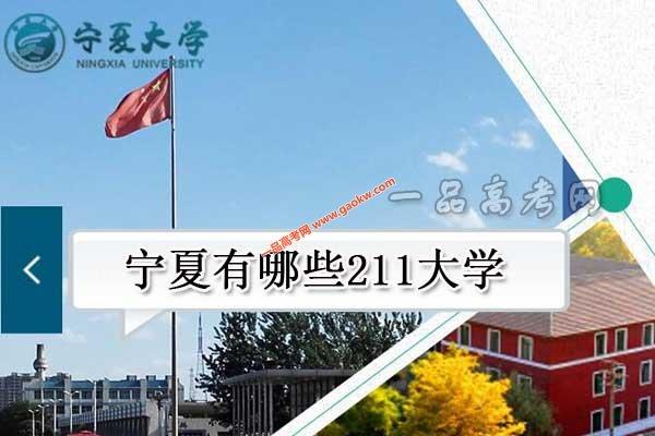 宁夏有哪些211大学(共1所211高校)