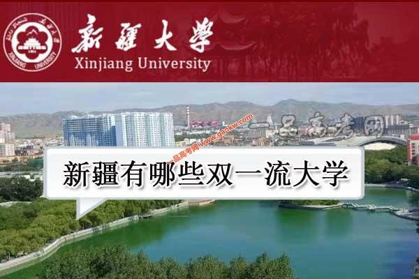 新疆有哪些双一流大学(1所世界一流大学,2所世界一流学科高校)