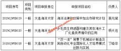 大连海洋大学获批3项2019-2020年辽宁省高等学校国(境)外培养项目立项
