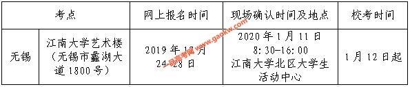 江南大学2020年舞蹈编导专业本科招生简章2