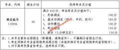 江南大学2020年舞蹈编导专业本科招生简章(含招生计划,考试安排