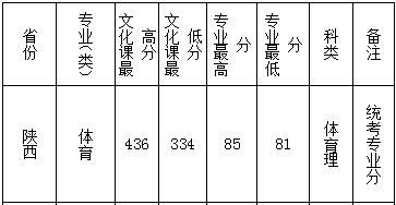 2019年西安文理学院陕西录取分数线6