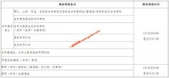 海南省2020年高考模拟填报志愿公告