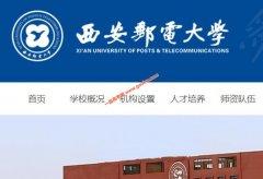 西安邮电大学2019年录取分数线(附2017-2018年分数线)