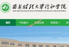 西安财经大学行知学院2020录取分数线(附2017-2019年分数线)