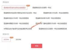 2020年广东省五年一贯制全省统考录取结果查询