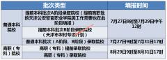 天津2020年高考考生志愿填报时间安排(及志愿填报主要变化)