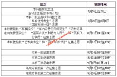 湖南2020年高考网上填报志愿时间安排表