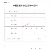 2020年宁夏高考成绩复核实施办法