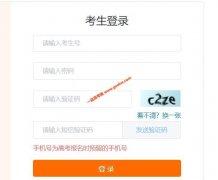 天津2020年普通高考志愿网上填报系统