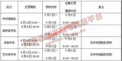 2020年河南最后一次志愿填报将在8月4日启动