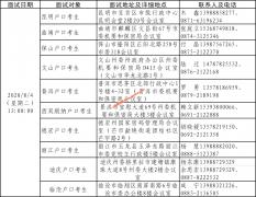 北京电子科技学院2020年在云南省招生面试时间表