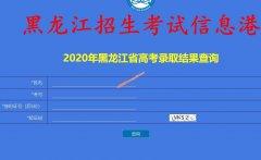 2020年黑龙江高考录取结果查询(龙招港)