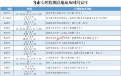 江苏2021年军队院校招生心理检测安排已公布
