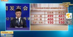 陕西省2021本科一批分数线公布( 文史类499 理工类443 )