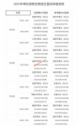 安徽2021年军队院校招收普通高中毕业生面试体检公告